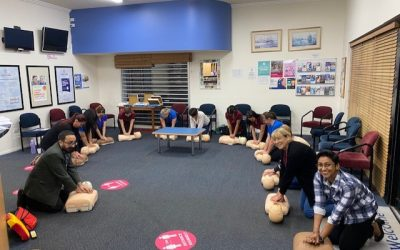 CPR session